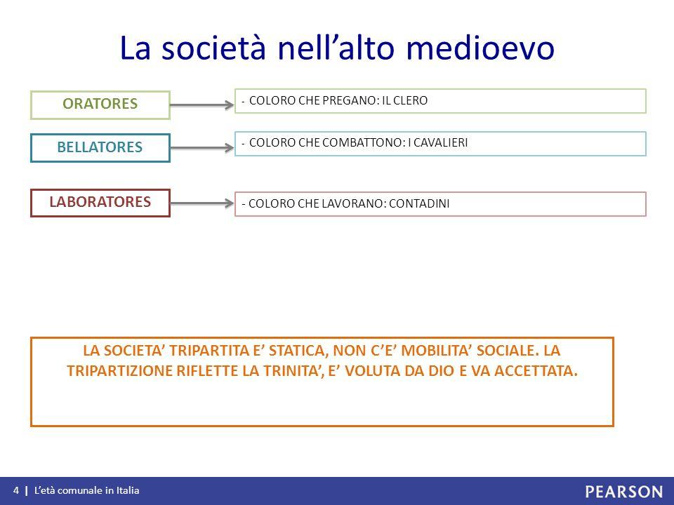 La società nell'alto medioevo
