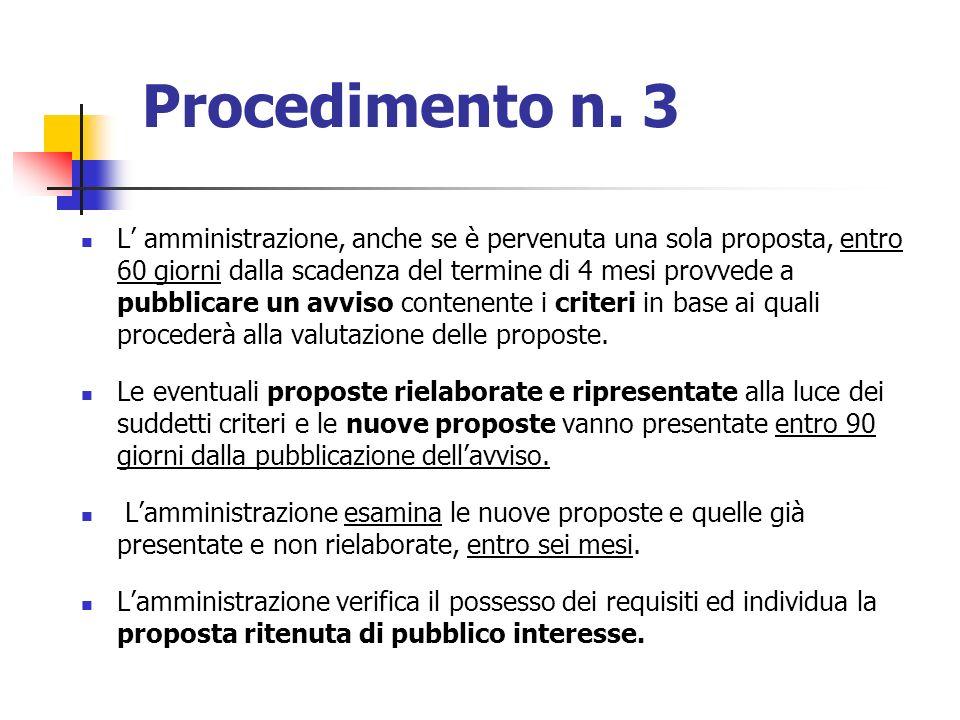Procedimento n. 3