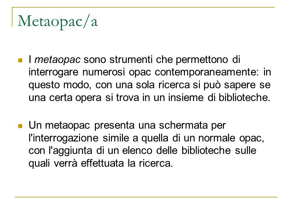Metaopac/a