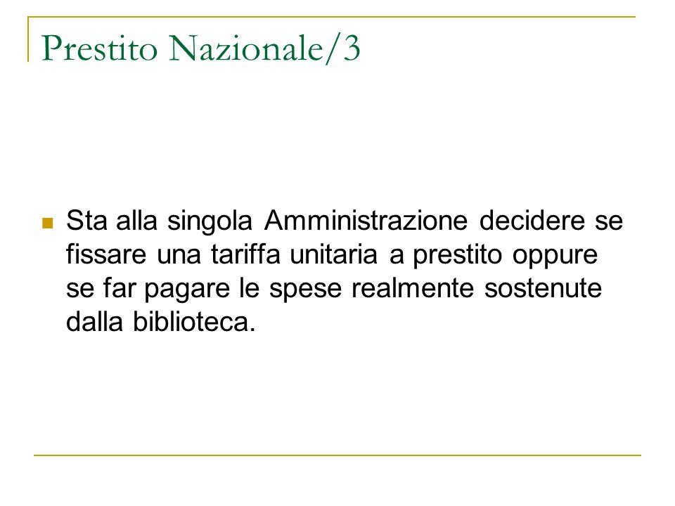Prestito Nazionale/3