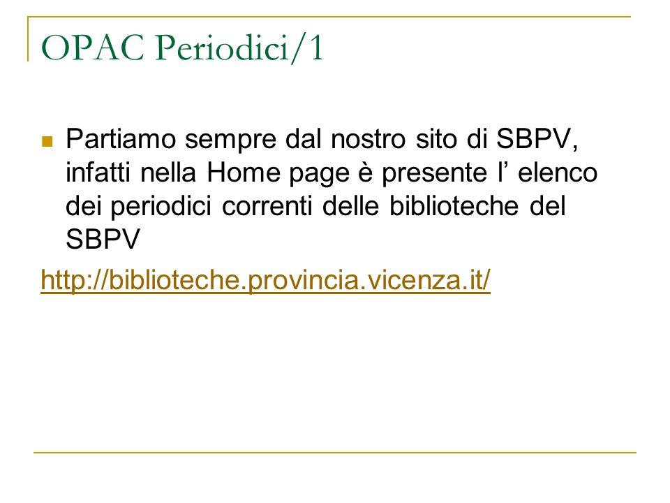 OPAC Periodici/1