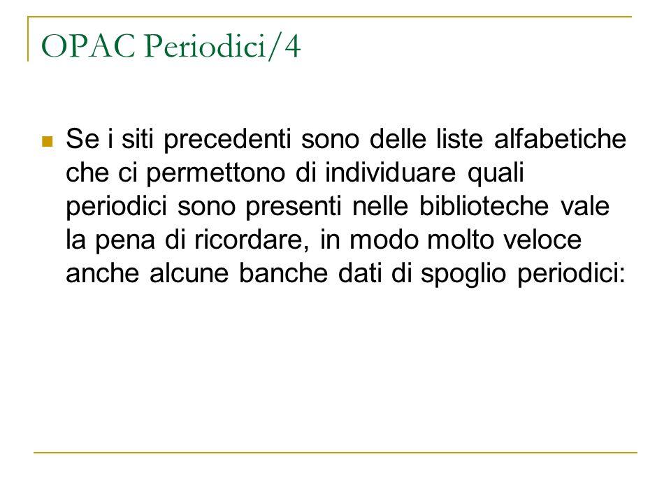 OPAC Periodici/4