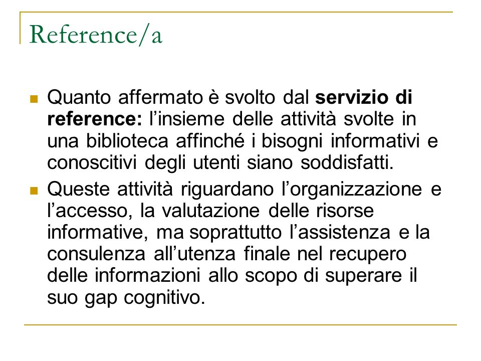 Reference/a