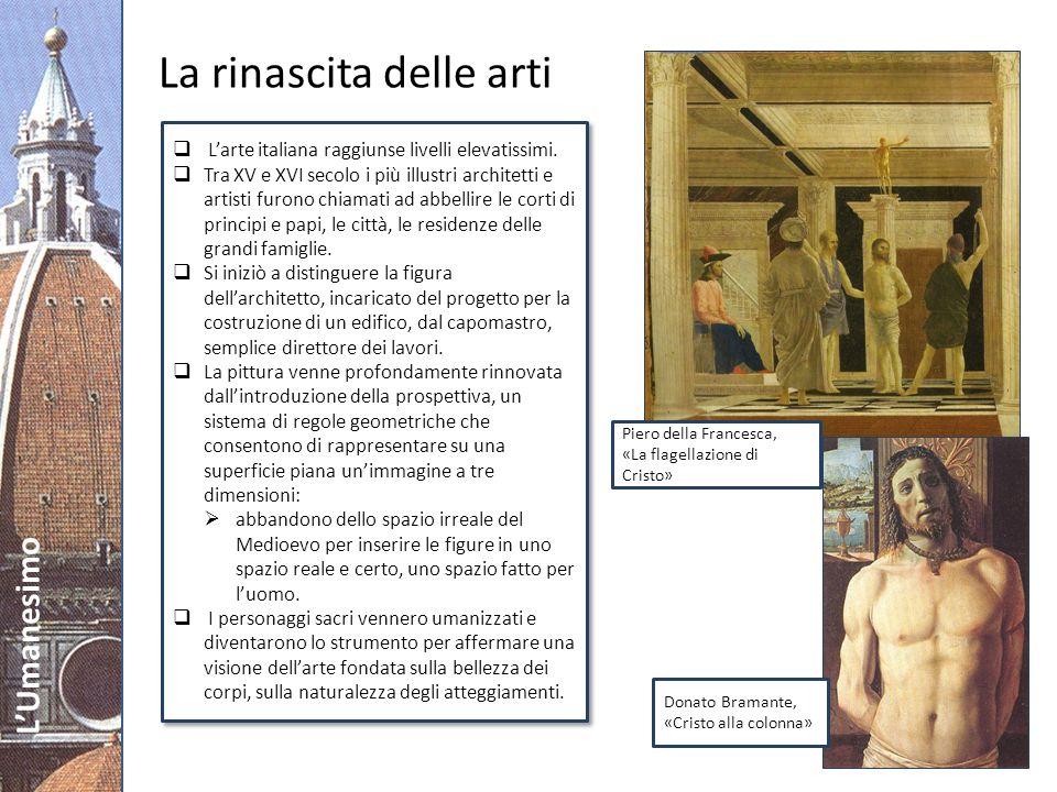 La rinascita delle arti