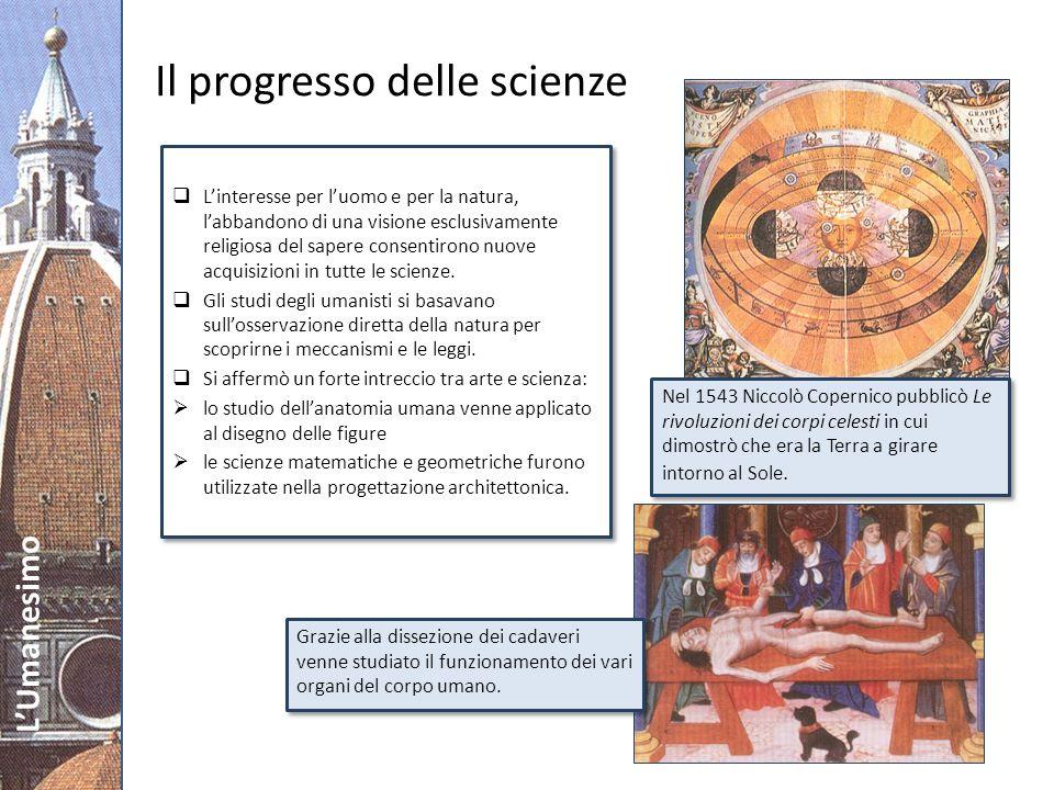 Il progresso delle scienze