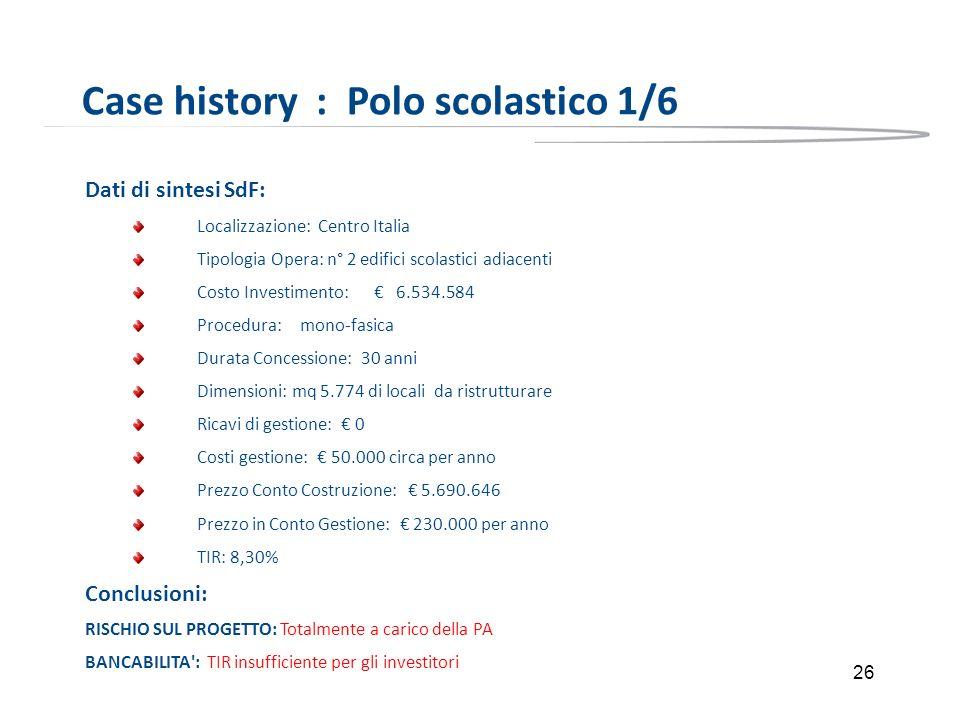 Case history : Polo scolastico 1/6