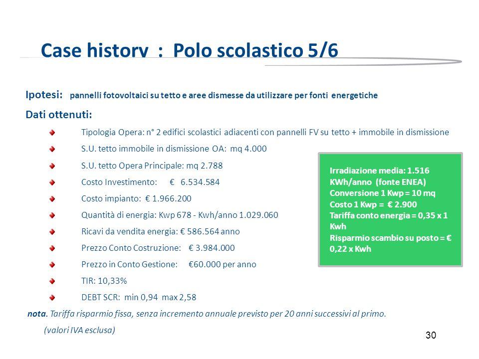 Case history : Polo scolastico 5/6