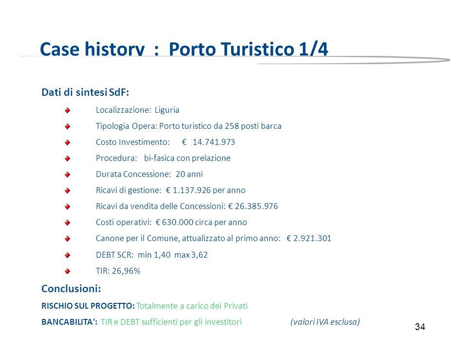 Case history : Porto Turistico 1/4