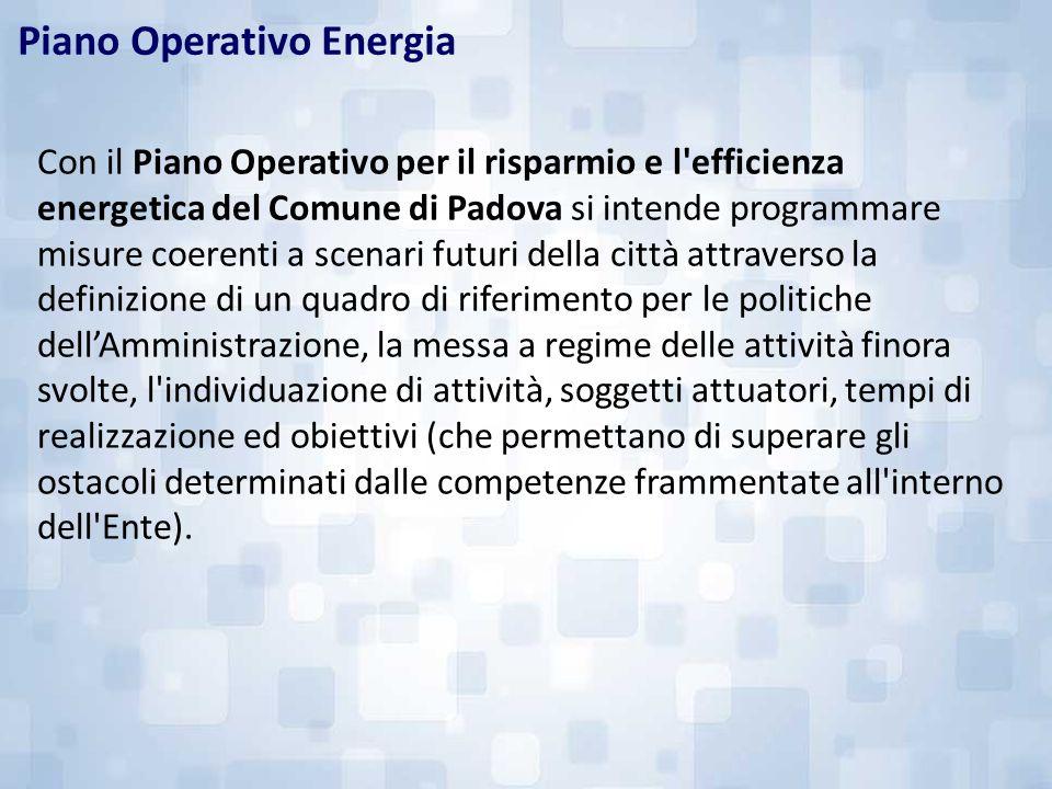 Piano Operativo Energia