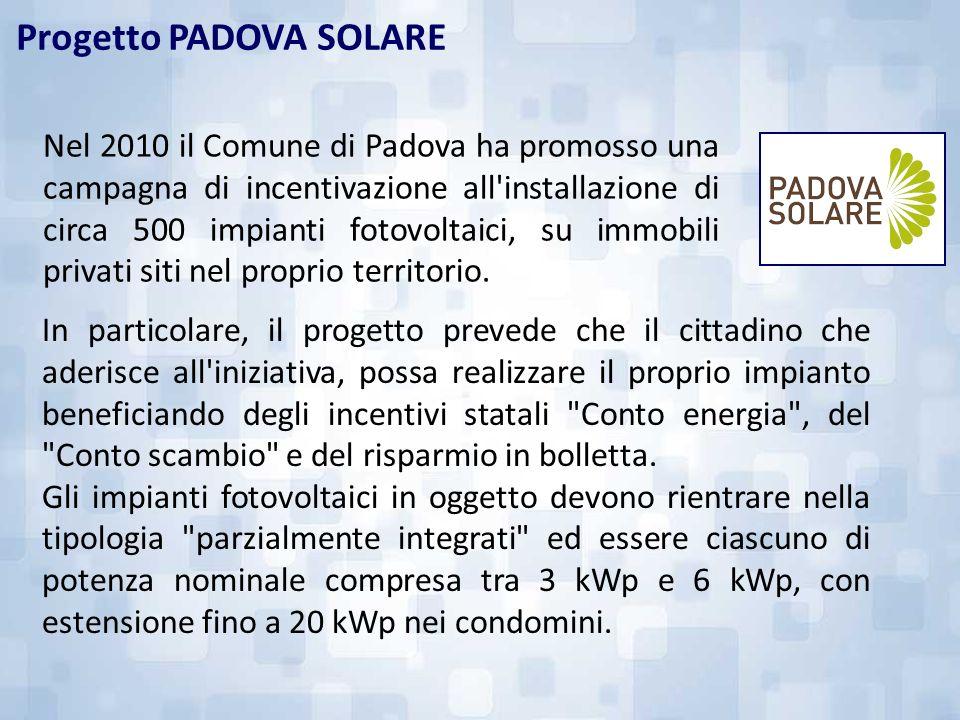 Progetto PADOVA SOLARE