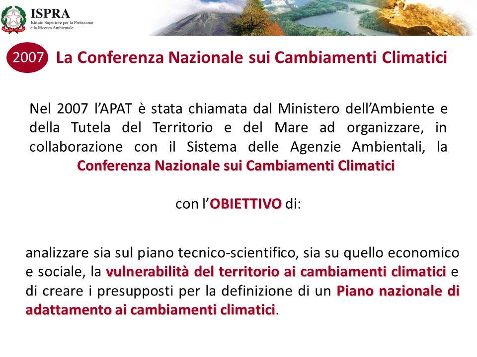 La Conferenza Nazionale sui Cambiamenti Climatici