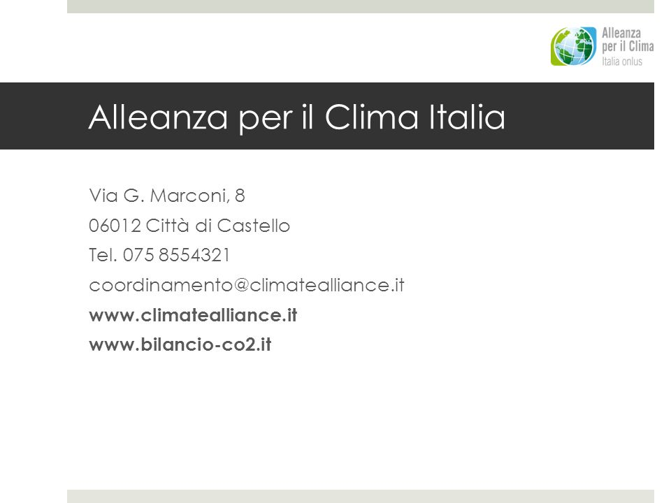 Alleanza per il Clima Italia