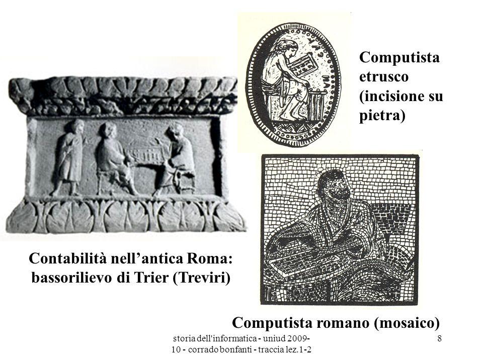 Computista romano (mosaico)