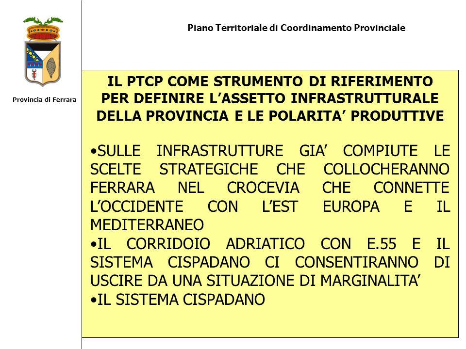 Provincia di FerraraPiano Territoriale di Coordinamento Provinciale.