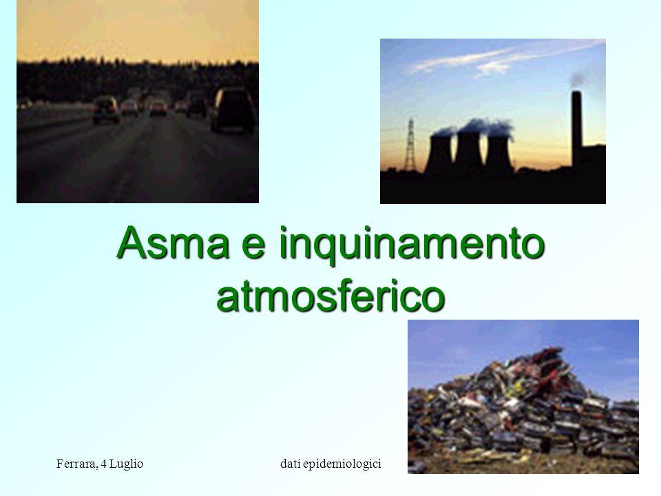 Asma e inquinamento atmosferico