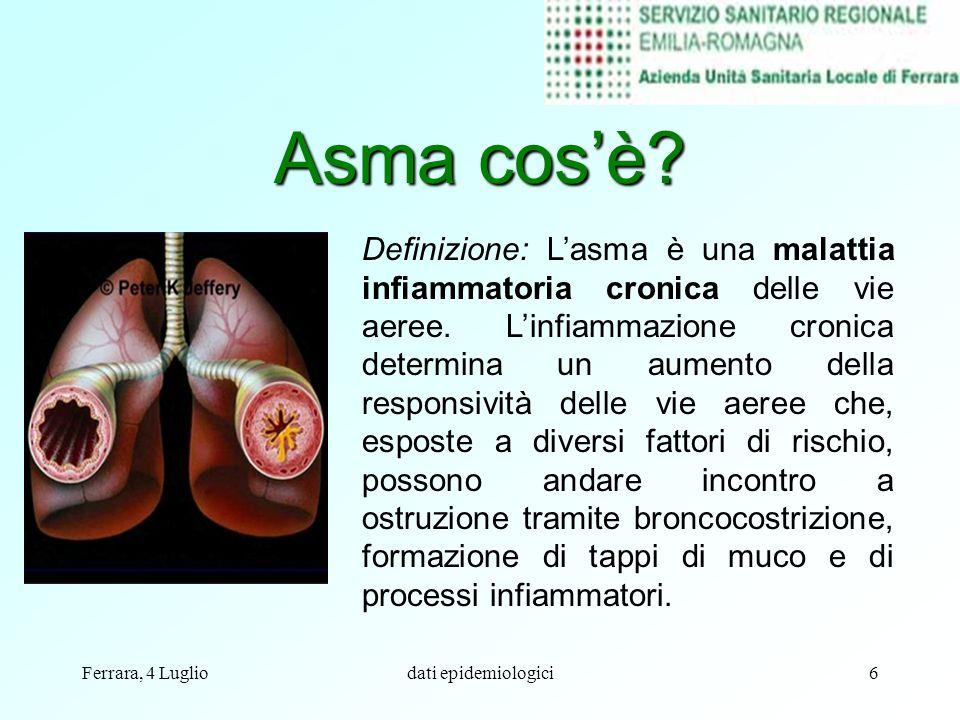 Asma cos'è