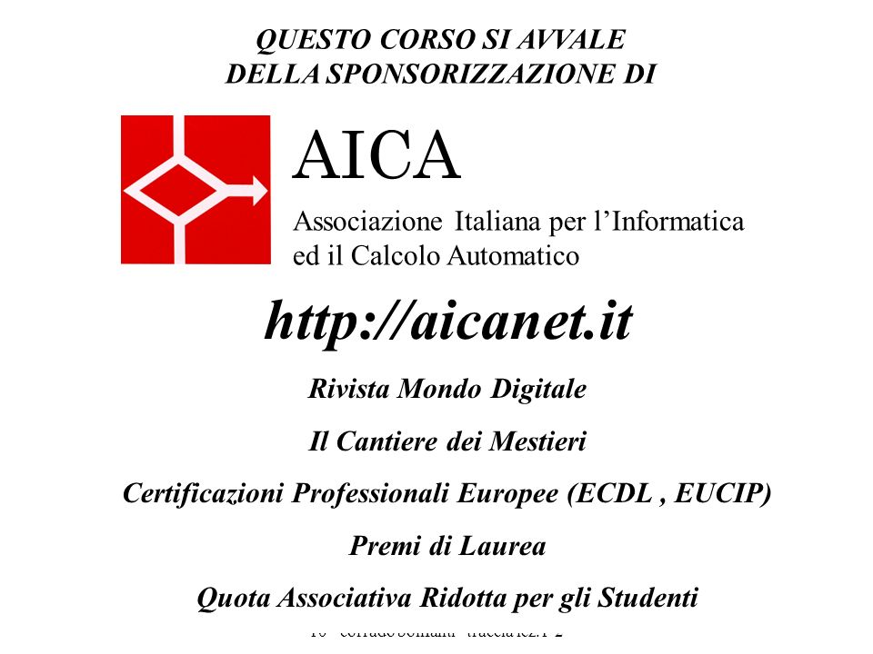 AICA http://aicanet.it