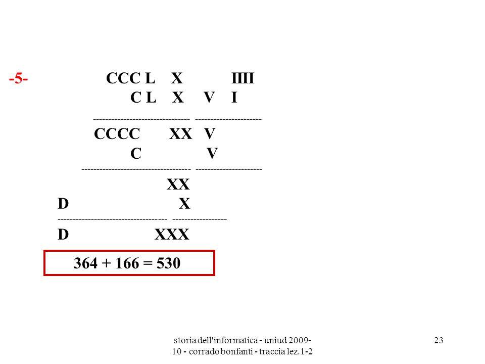 -5- CCC L X IIII C L X V I