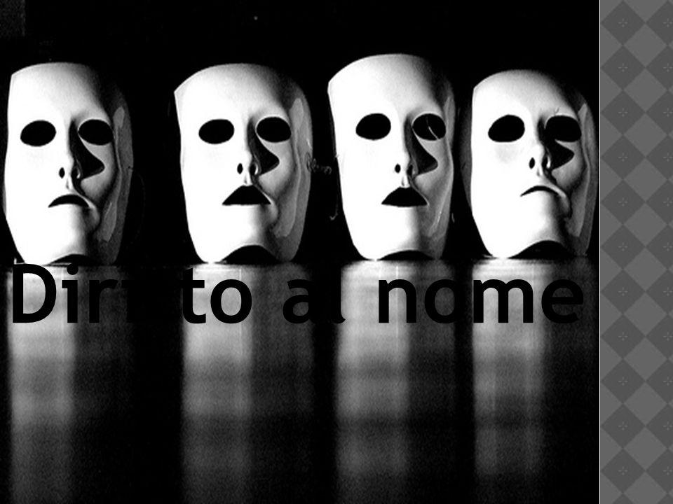 Diritto al nome