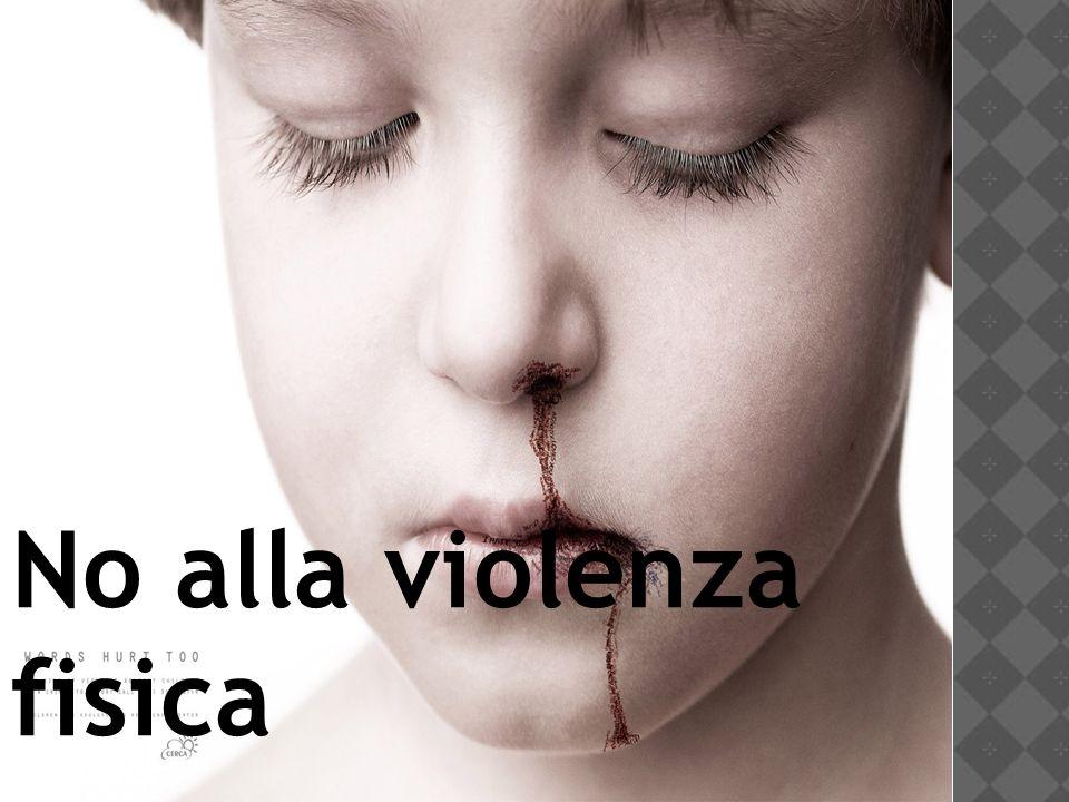 No alla violenza fisica