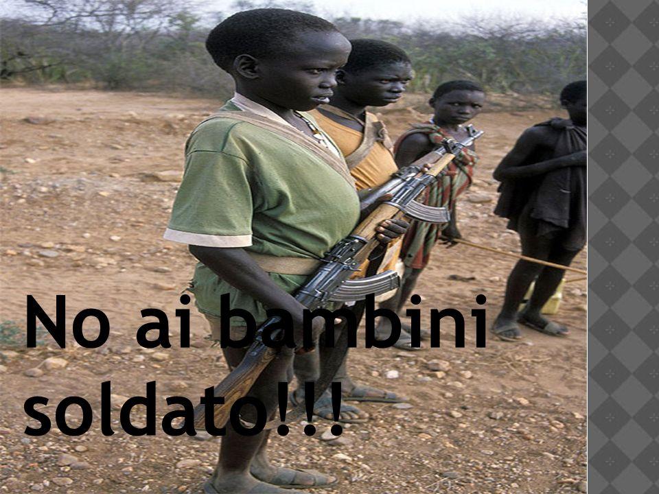 No ai bambini soldato!!!