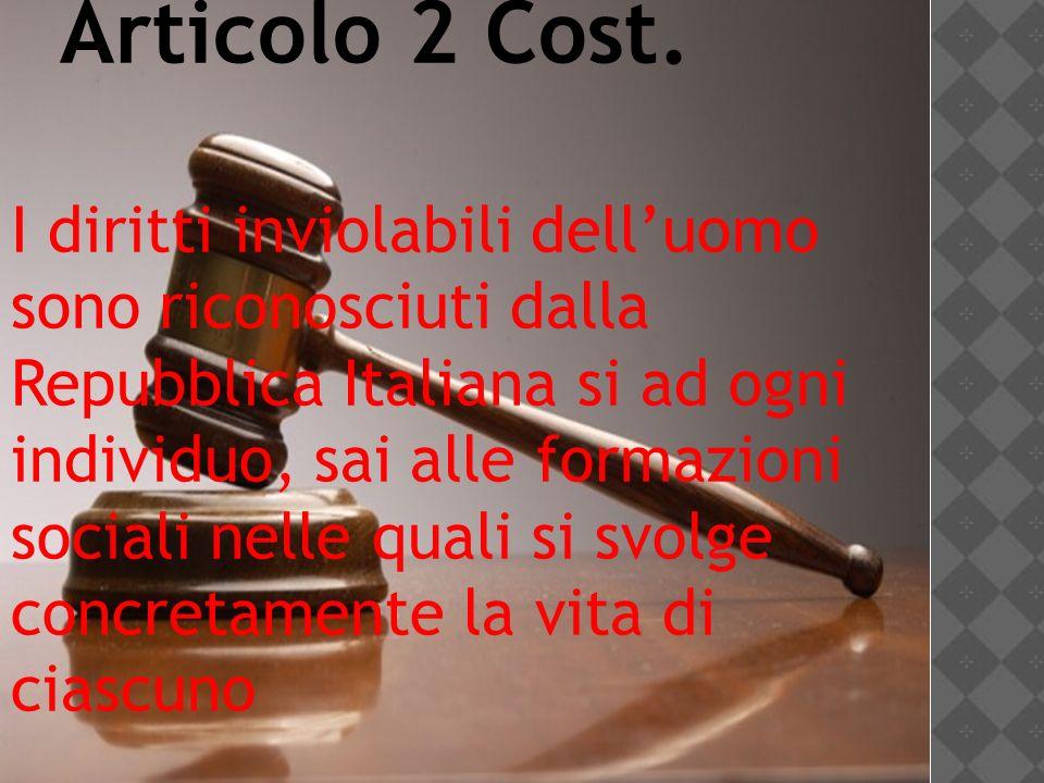 Articolo 2 Cost.