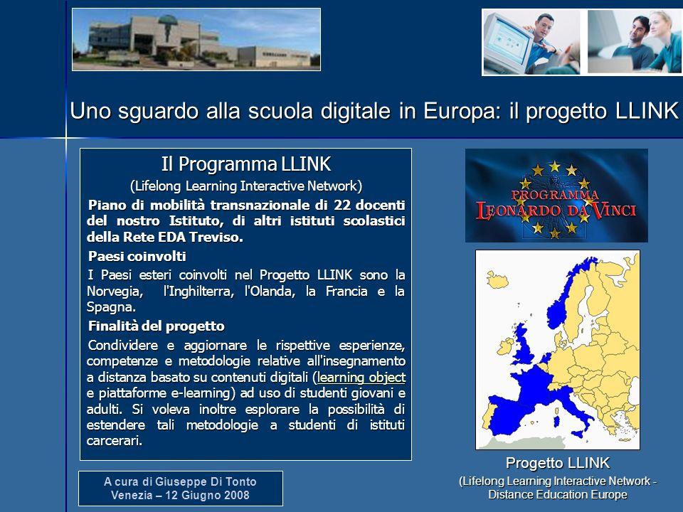 Uno sguardo alla scuola digitale in Europa: il progetto LLINK
