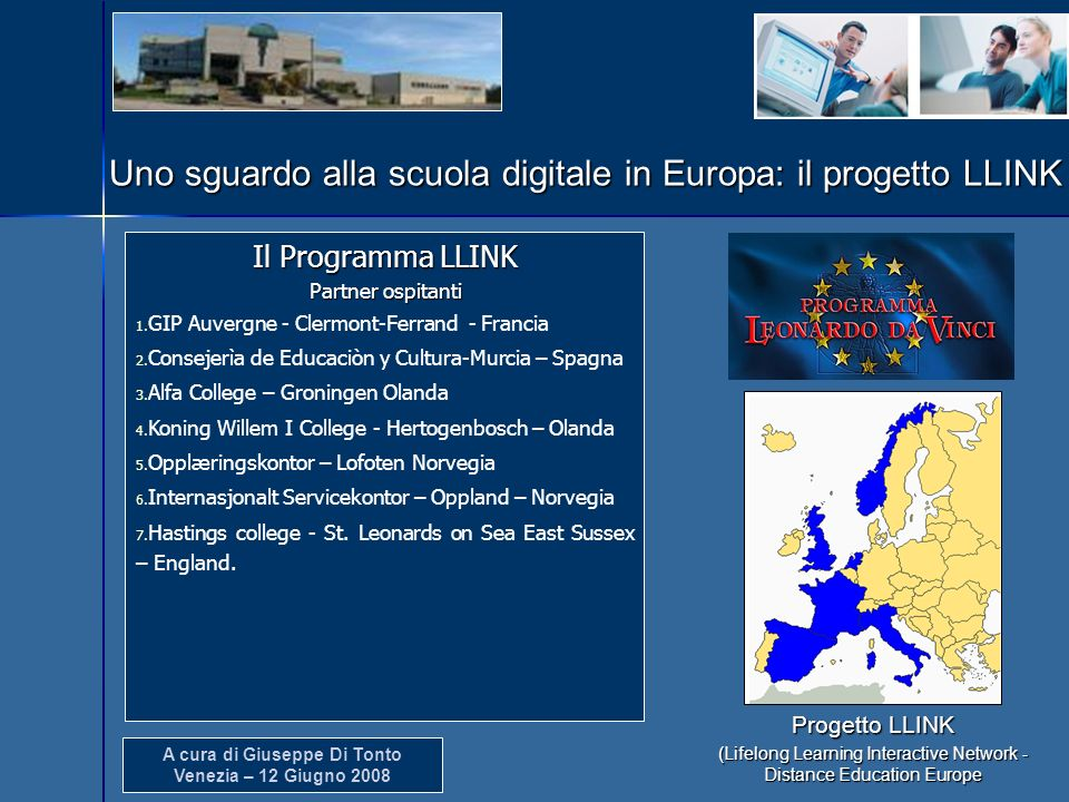 (Lifelong Learning Interactive Network - Distance Education Europe
