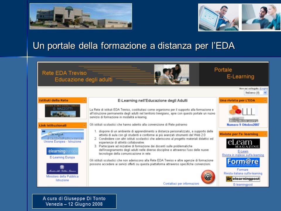 Un portale della formazione a distanza per l'EDA