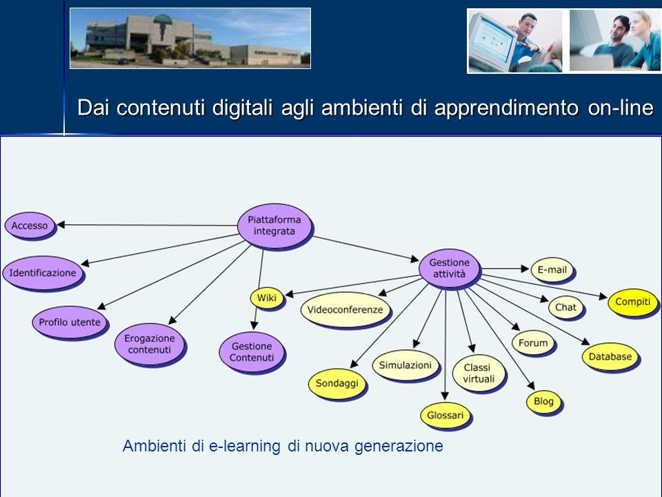 Dai contenuti digitali agli ambienti di apprendimento on-line