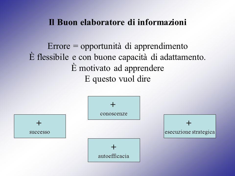Il Buon elaboratore di informazioni