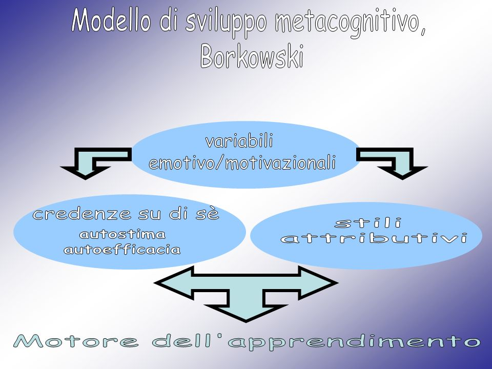 Modello di sviluppo metacognitivo, Borkowski