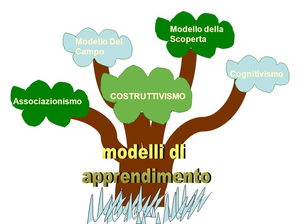 modelli di apprendimento Modello della Scoperta Modello Del Campo