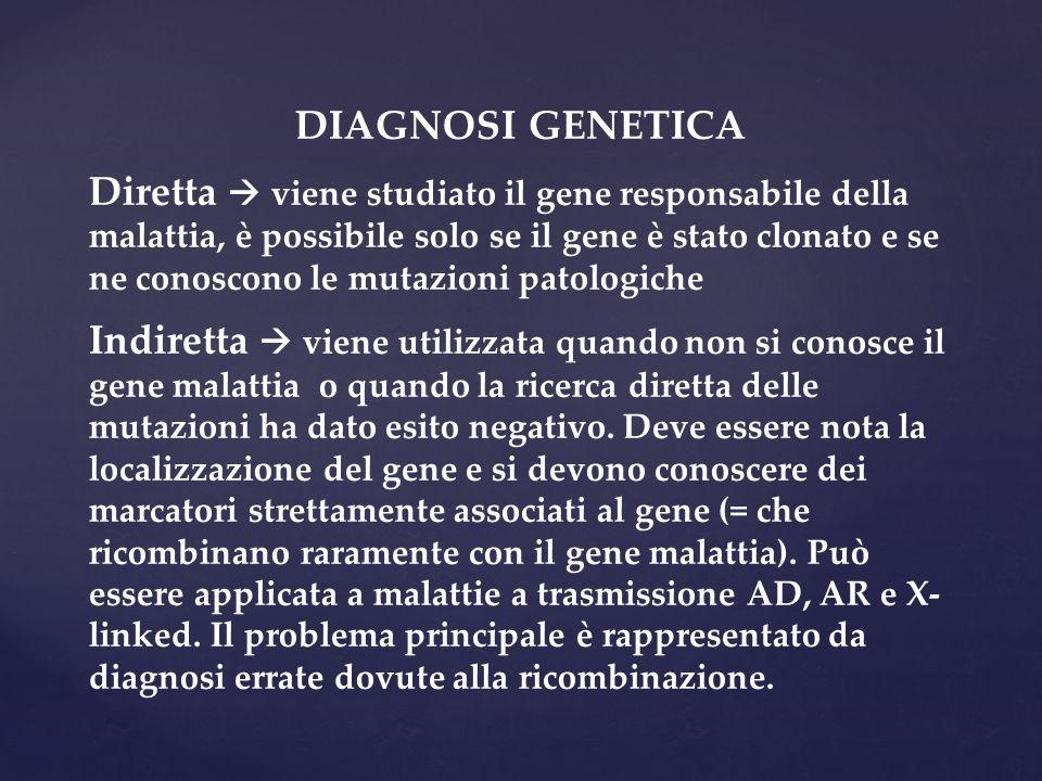 DIAGNOSI GENETICA