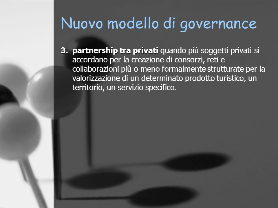 Nuovo modello di governance
