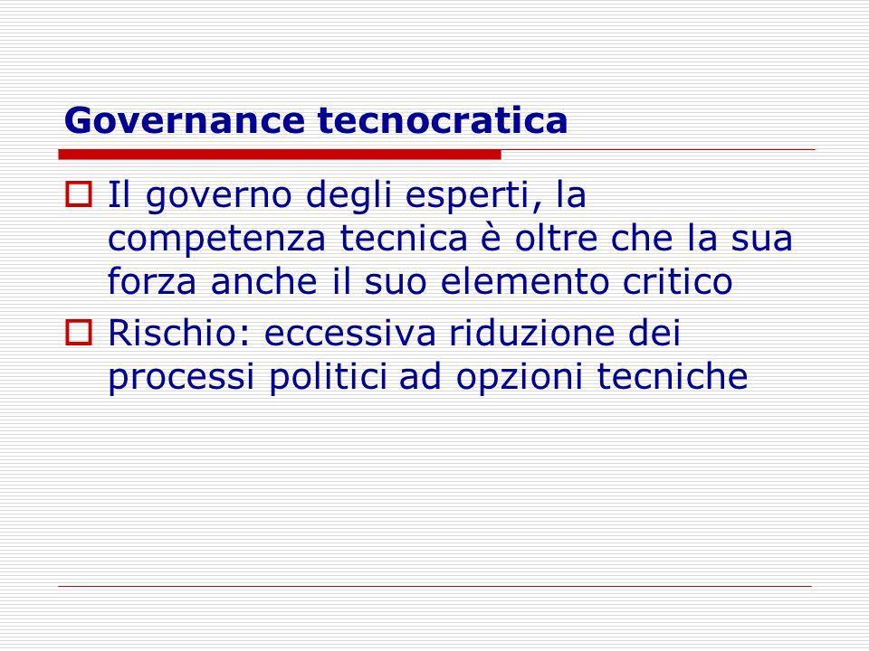 Governance tecnocratica
