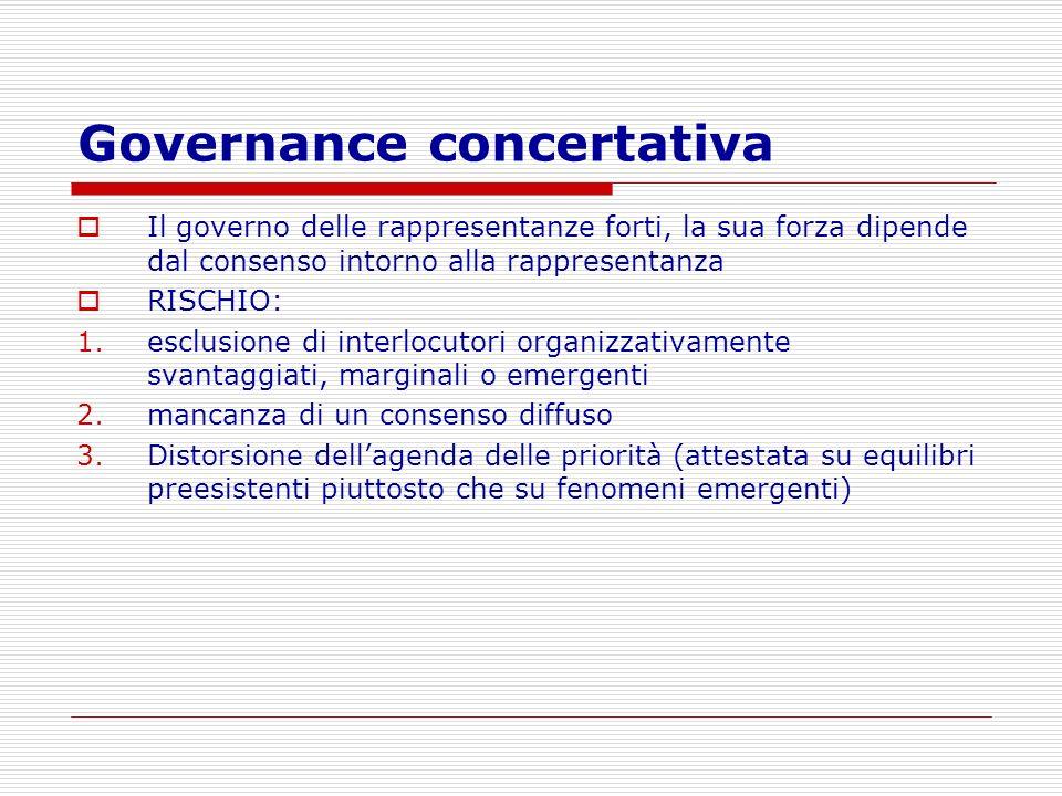Governance concertativa