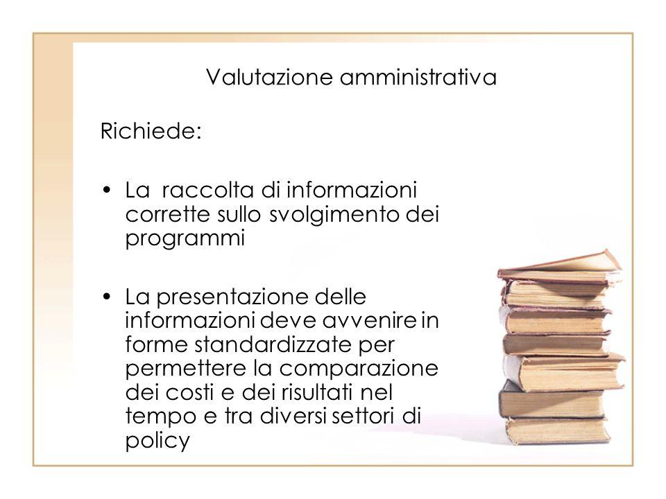 Valutazione amministrativa
