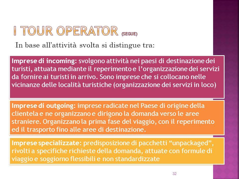 I tour operator (segue)