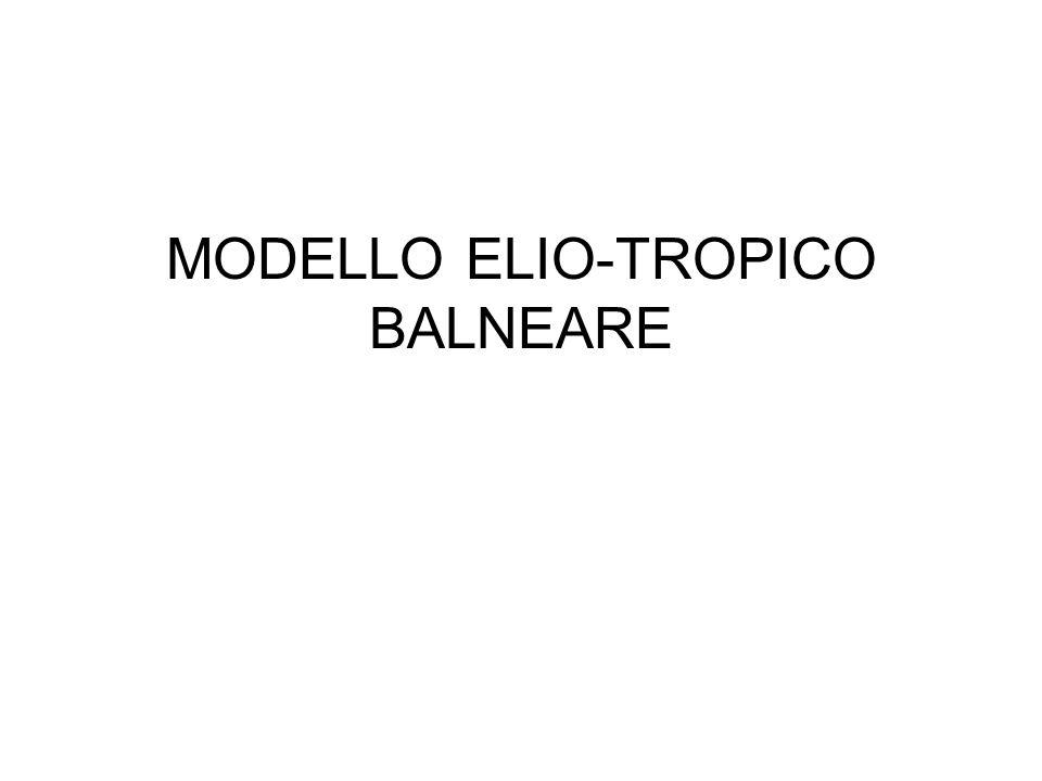 MODELLO ELIO-TROPICO BALNEARE