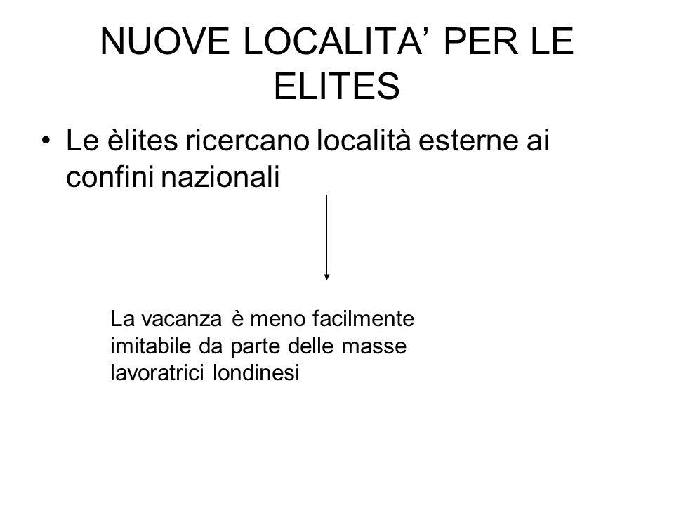 NUOVE LOCALITA' PER LE ELITES
