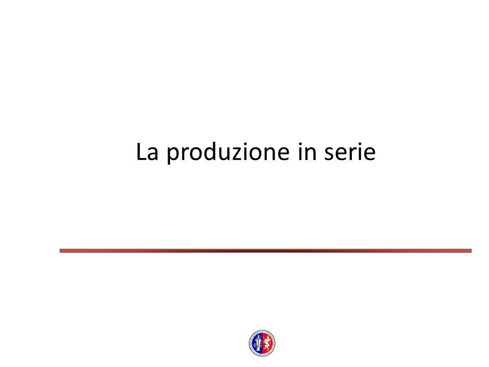 La produzione in serie