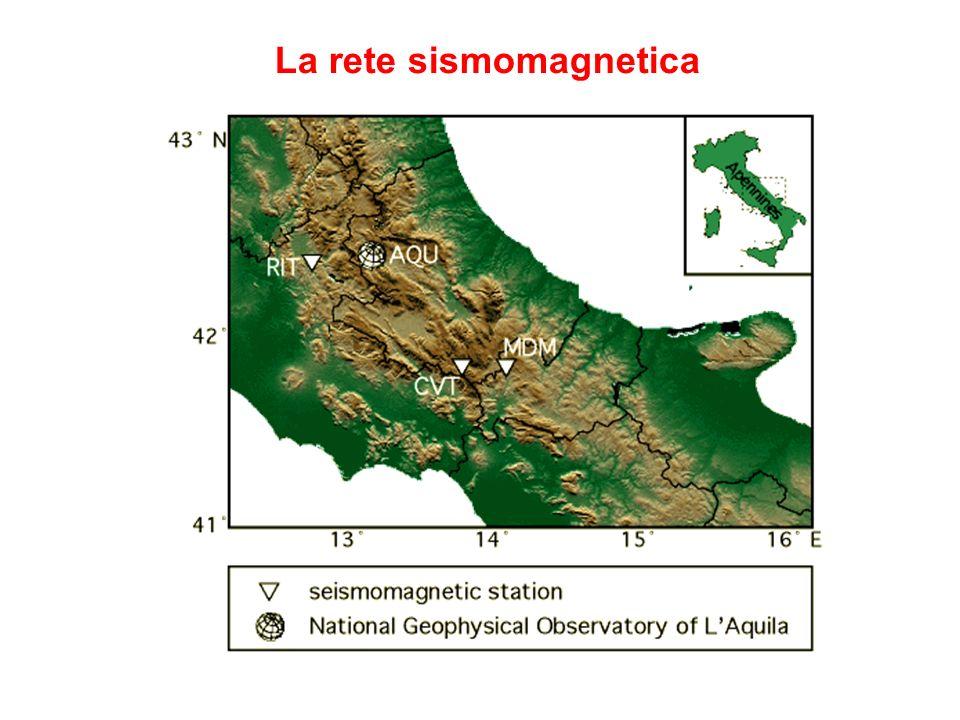 La rete sismomagnetica