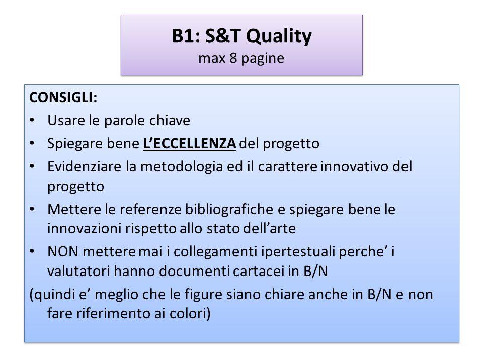 B1: S&T Quality max 8 pagine