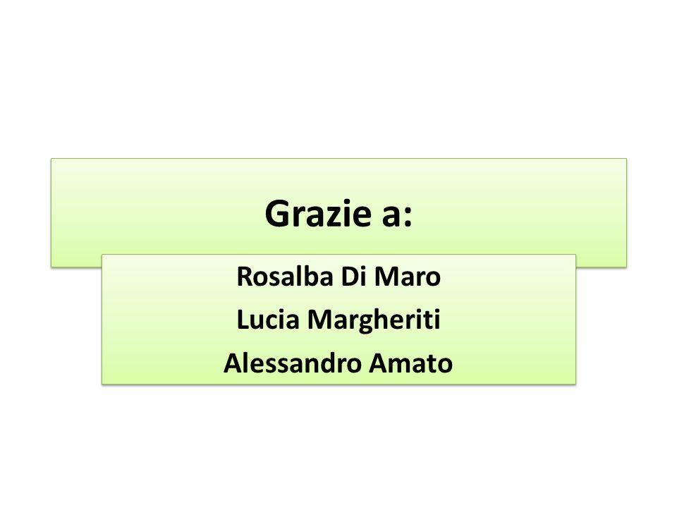 Rosalba Di Maro Lucia Margheriti Alessandro Amato