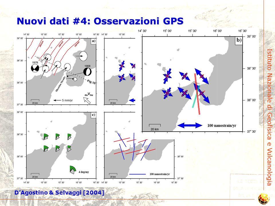 Nuovi dati #4: Osservazioni GPS