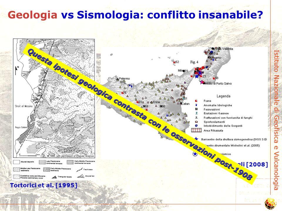 Questa ipotesi geologica contrasta con le osservazioni post-1908