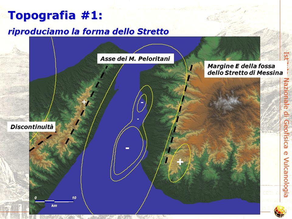 Topografia #1: riproduciamo la forma dello Stretto