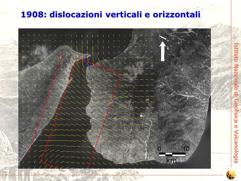1908: dislocazioni verticali e orizzontali