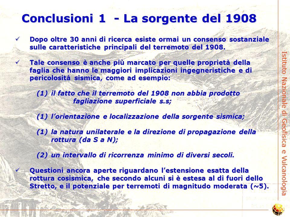 Conclusioni 1 - La sorgente del 1908